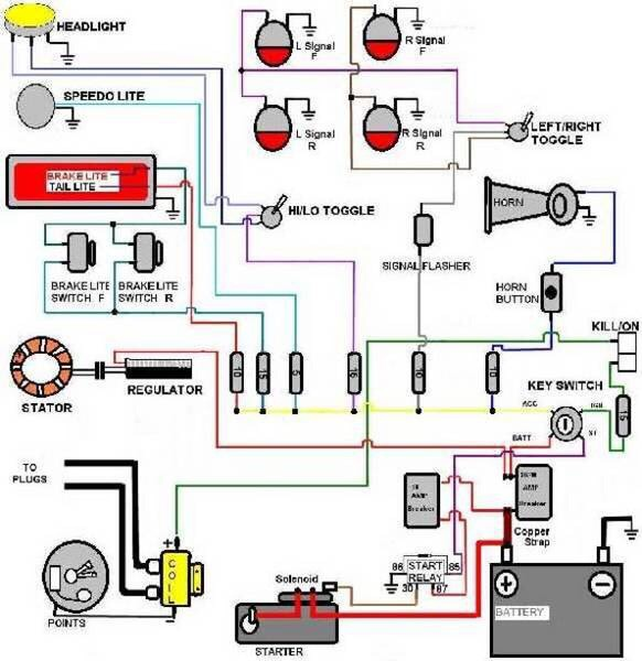 total loss ignition wiring diagram
