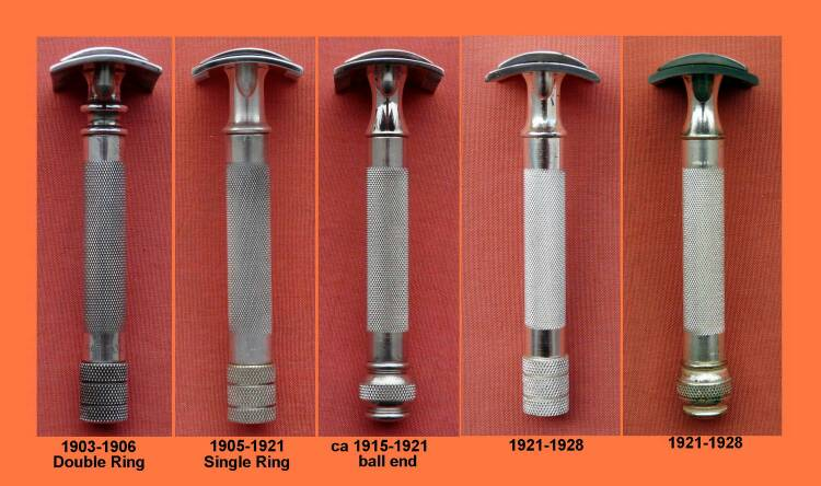 gillette razor dating guide The razor was often sold in a set of seven, one for each day of the week  these items are part of the online price guide and not for sale.