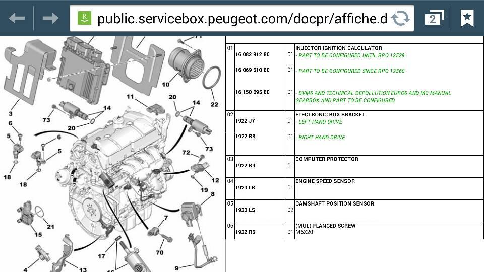 Peugeot Rcz Forum  U2022 P1340 Camshaft Position Sensor B