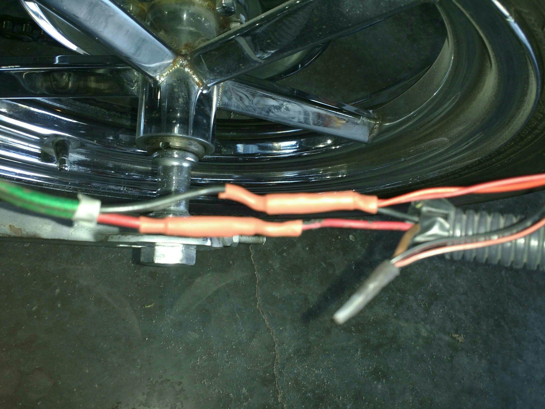Ironhead 1975 Sporty basic wiring for kickstart - The