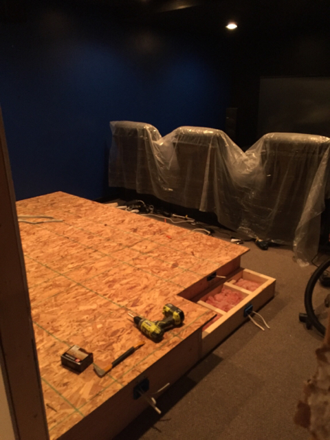 Building a riser and adding a wall    - Page 2 - AVS Forum | Home
