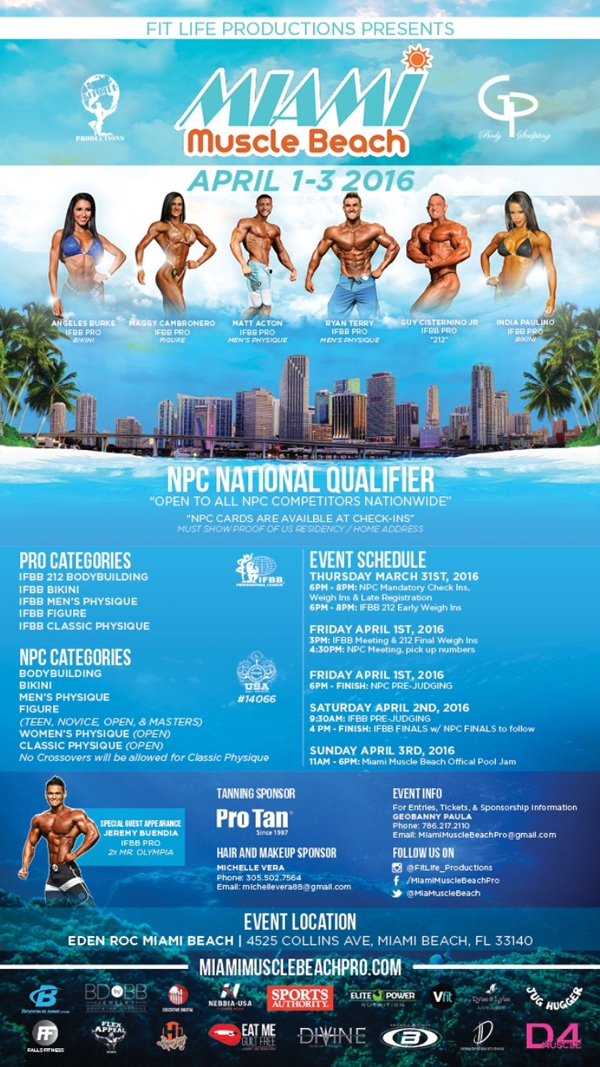 Miami Muscle Beach Pro 2016!! F52b9209d3c9158e2b7ed562b2041ed4