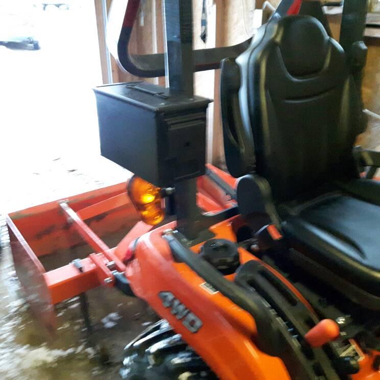 Kubota Tractor Tool Box : Orangetractortalks everything kubota l tool box