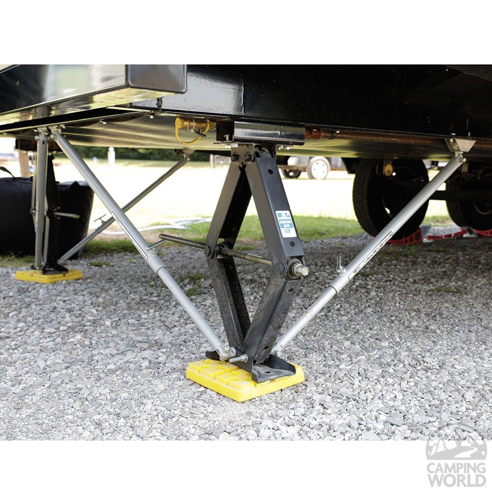 Fifth Wheel Stabilizer : Jt s strong arm jack stabilizer system page forest