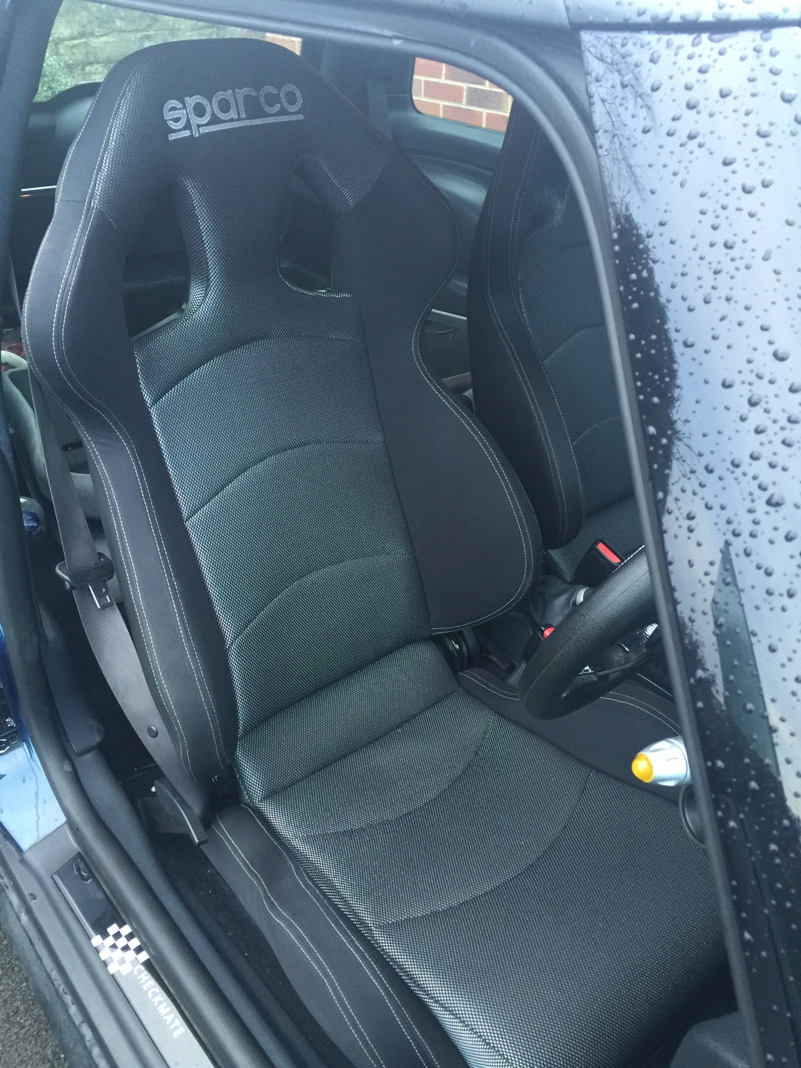 Sparco reclining seats and sparco mounts r53