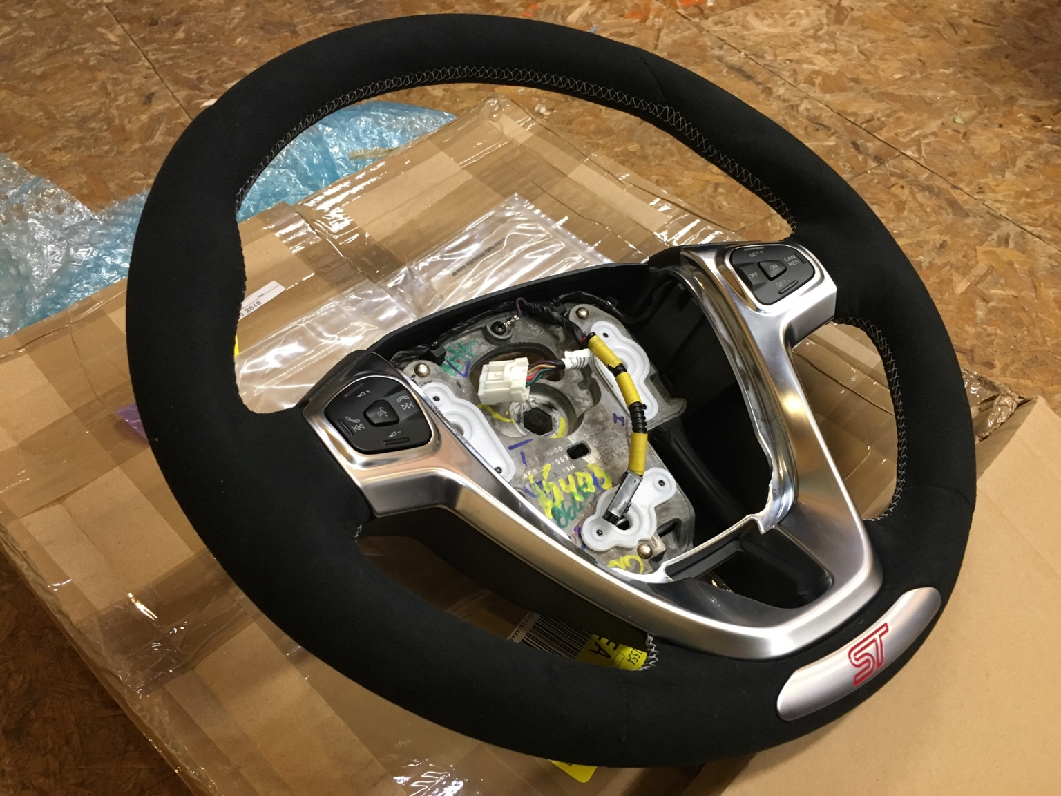 Introducing The Alcantara Fist Steering Wheel From