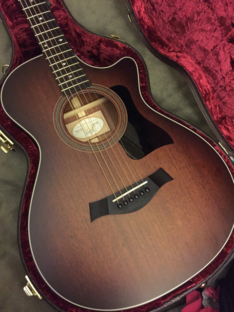 delayed ngd taylor 322ce 12 fret the acoustic guitar forum