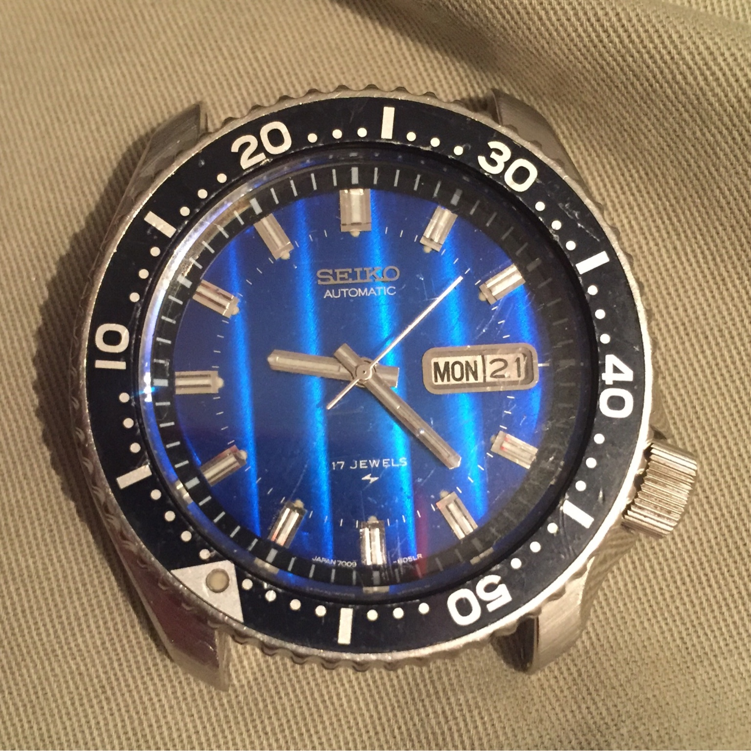 Skx007 mod  7009 dial and movement  | Wrist Sushi - A