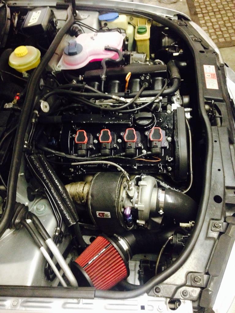 VWVortex com - 1 8t big turbo setup- turbo , manifold, downpipe
