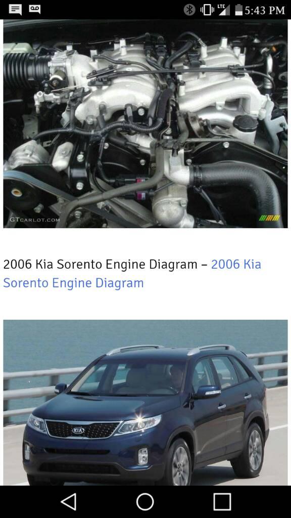 Kia Sorento with Mitsubishi 3.5L DOHC engine. - Expedition Portal