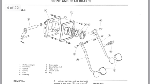 brake booster removal  hanging pedals - page 2