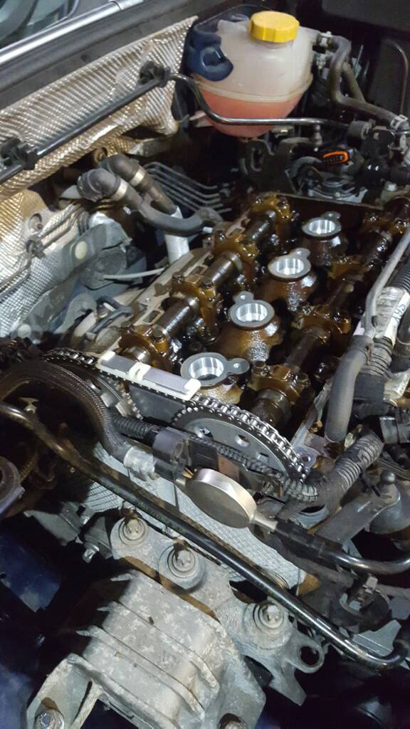 How to stop timing chain noise? Temp fix needed