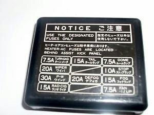 91 Toyota Mr2 Fuse Box Diagram   Wiring Diagram on