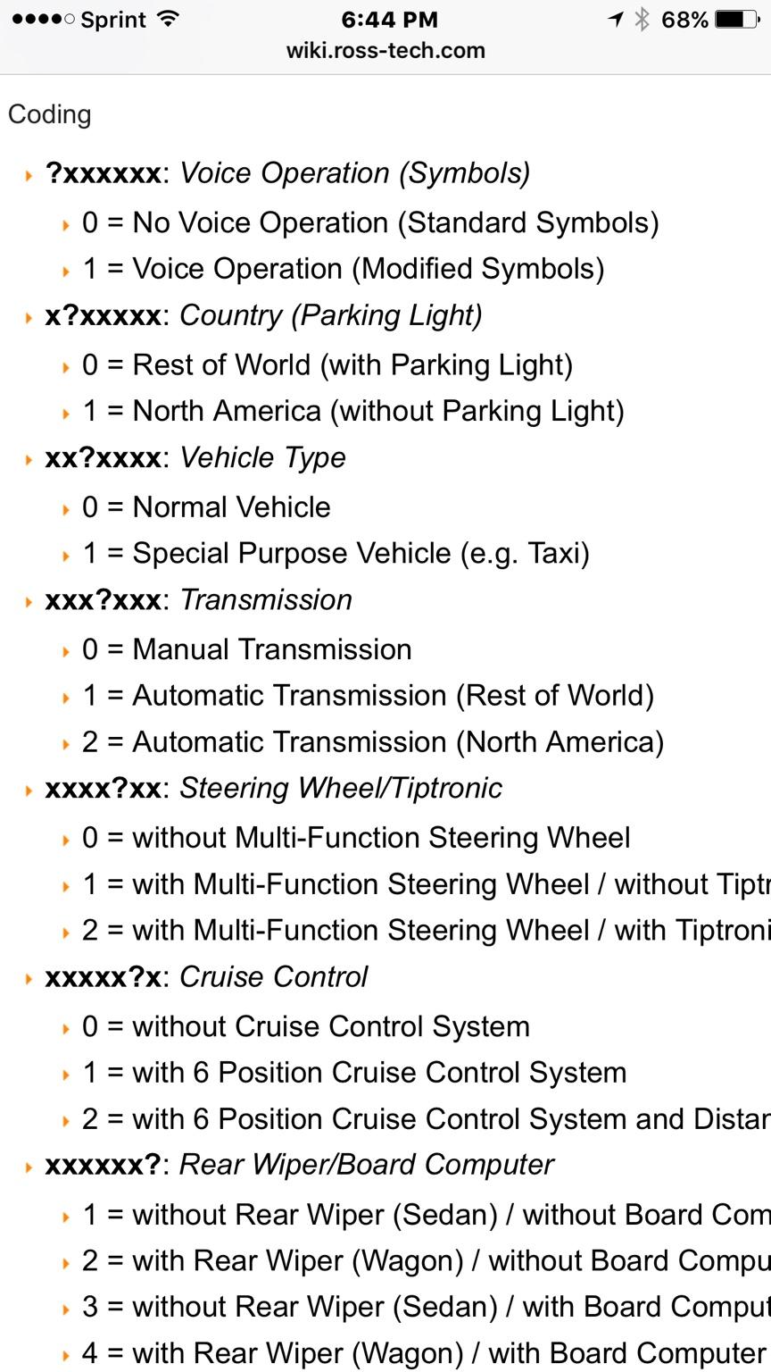 VWVortex com - Steering Wheel Fault/ESP Fault After Steering