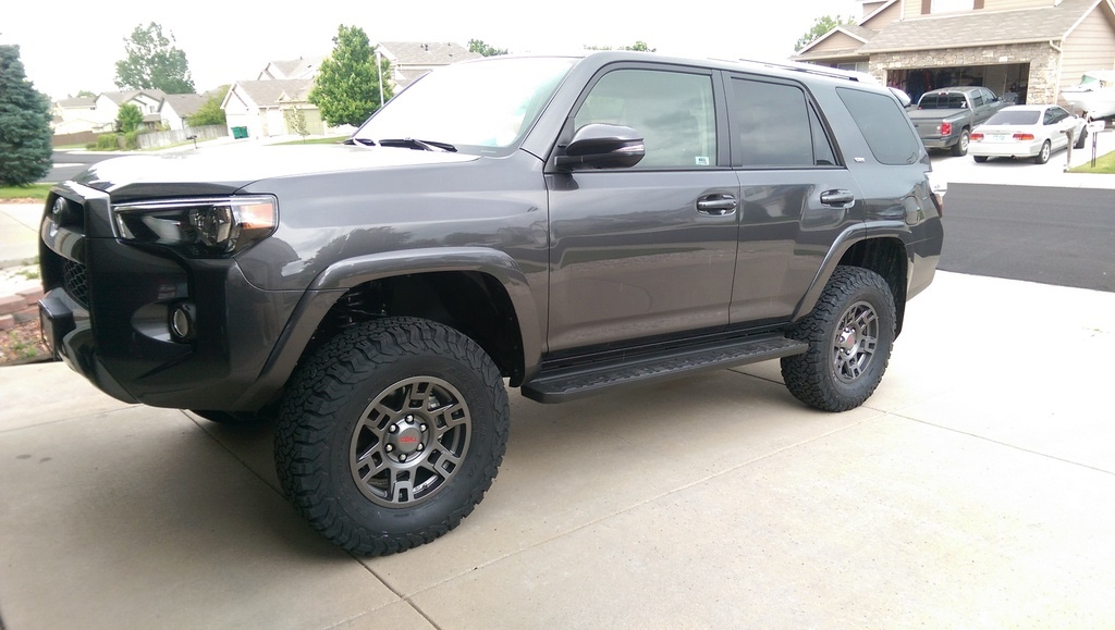 Magnetic Grey 4runners Lets See Them Page 56 Toyota