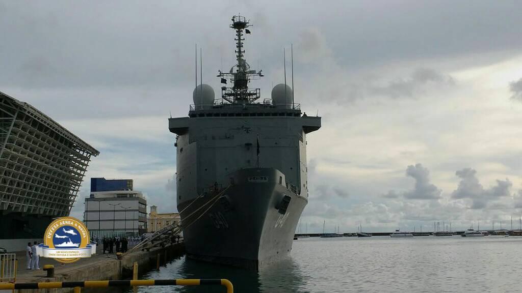 La llegada del ex Siroco ahora Bahía G-40 en Brasil