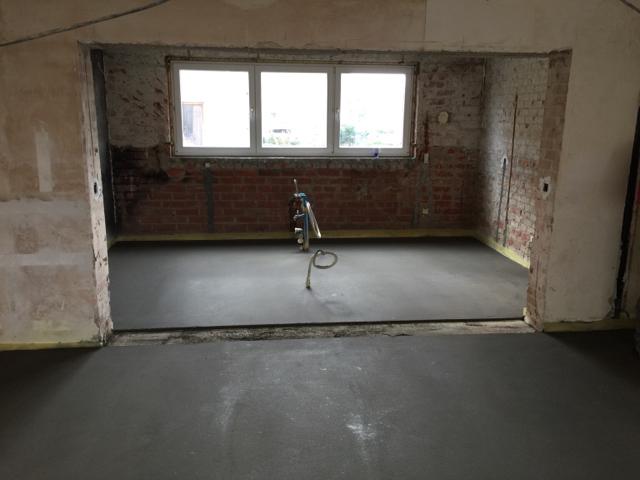 verdieping doorvoer houtkachel
