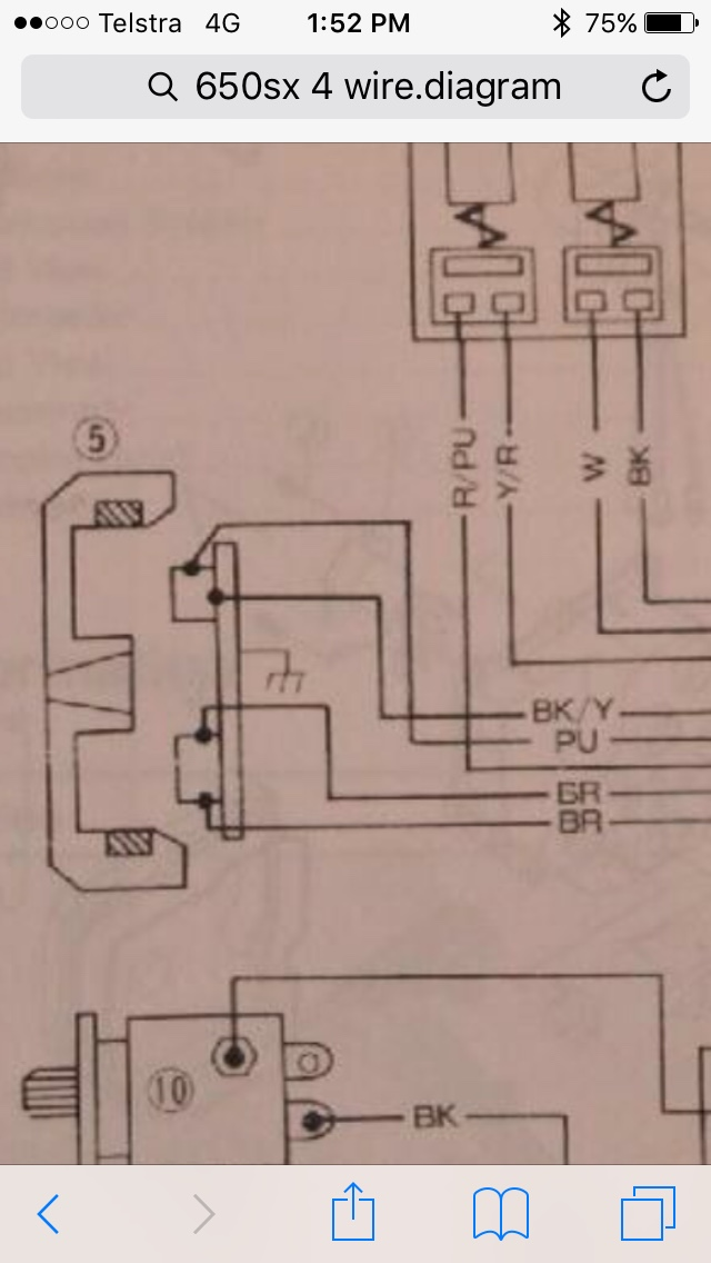 5 Wire Stator Wiring Diagram | Wiring Diagram