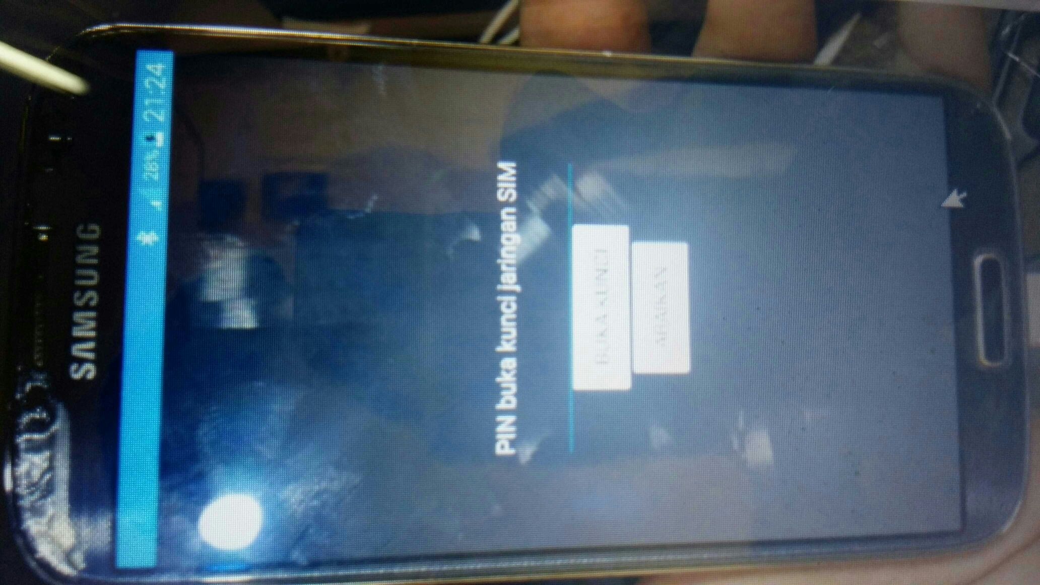 please select service imei for this phone model write imei failed