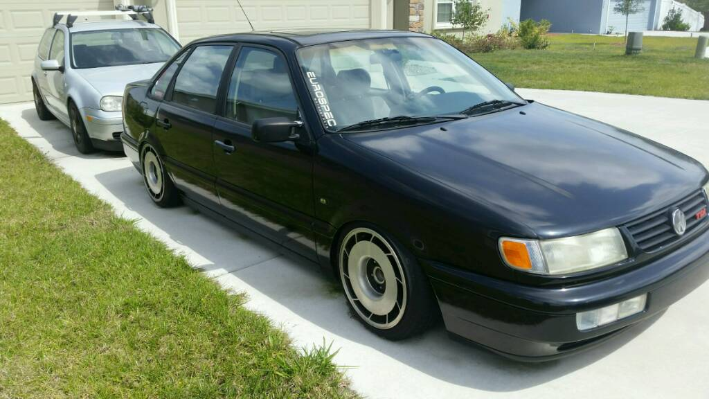 VWVortex com - 1996 VW Passat TDI, Bagged, wheels  Trade for Jetta