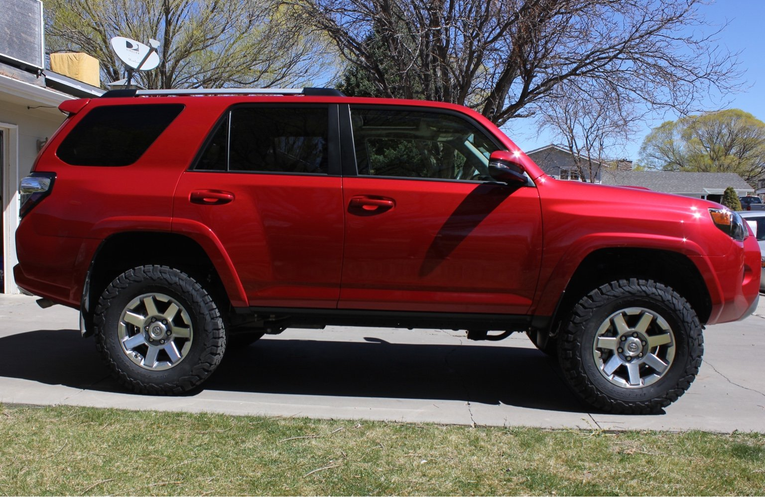 Barcelona Red 4runners Let S See Them Page 9 Toyota