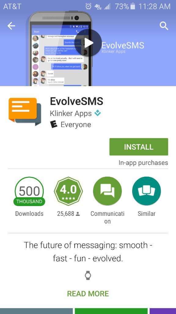 how to change default messaging app samsung