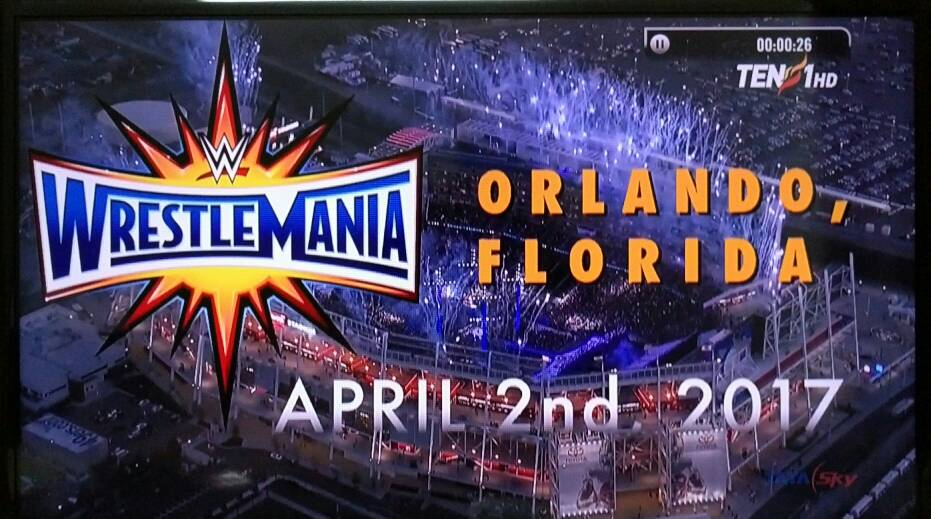 WrestleMania 33 Logo, Date & Place Revealed - SportzMode