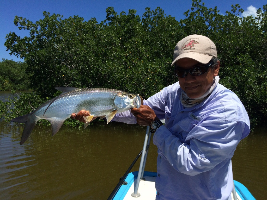 Trip Report Tarpon Fishing In Cancun Mexico