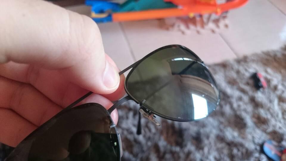 lentes ray ban descascando