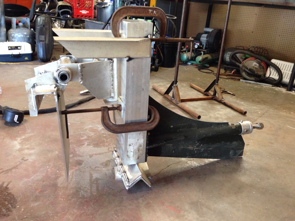 Homemade surface drive mud motor for Mud motor electric clutch