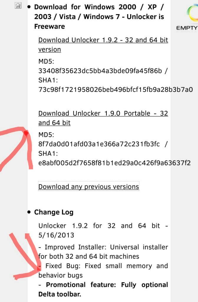 Unlocker embedded toolbar - Software - CCleaner Community Forums