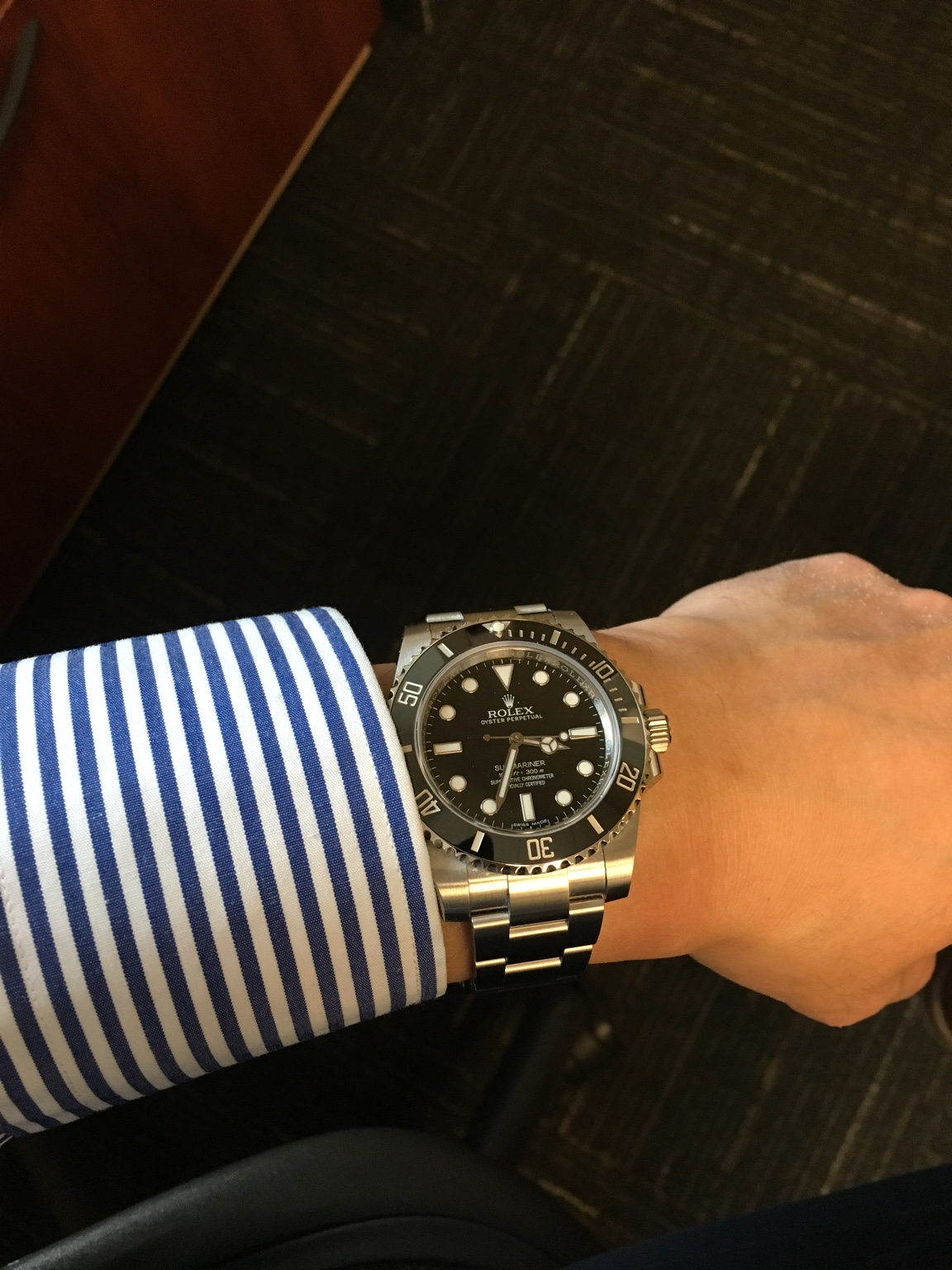 My New Rolex Submariner Ceramic No,Date!