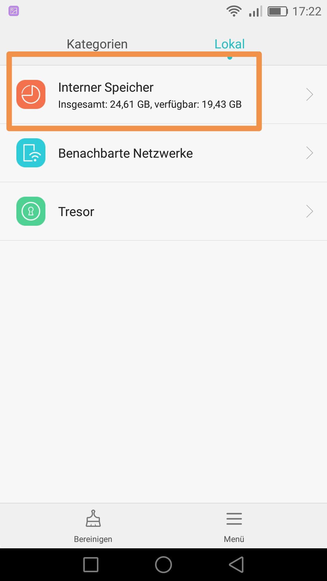 Wo Sind Die App Bzw Whatsapp Ordner P8