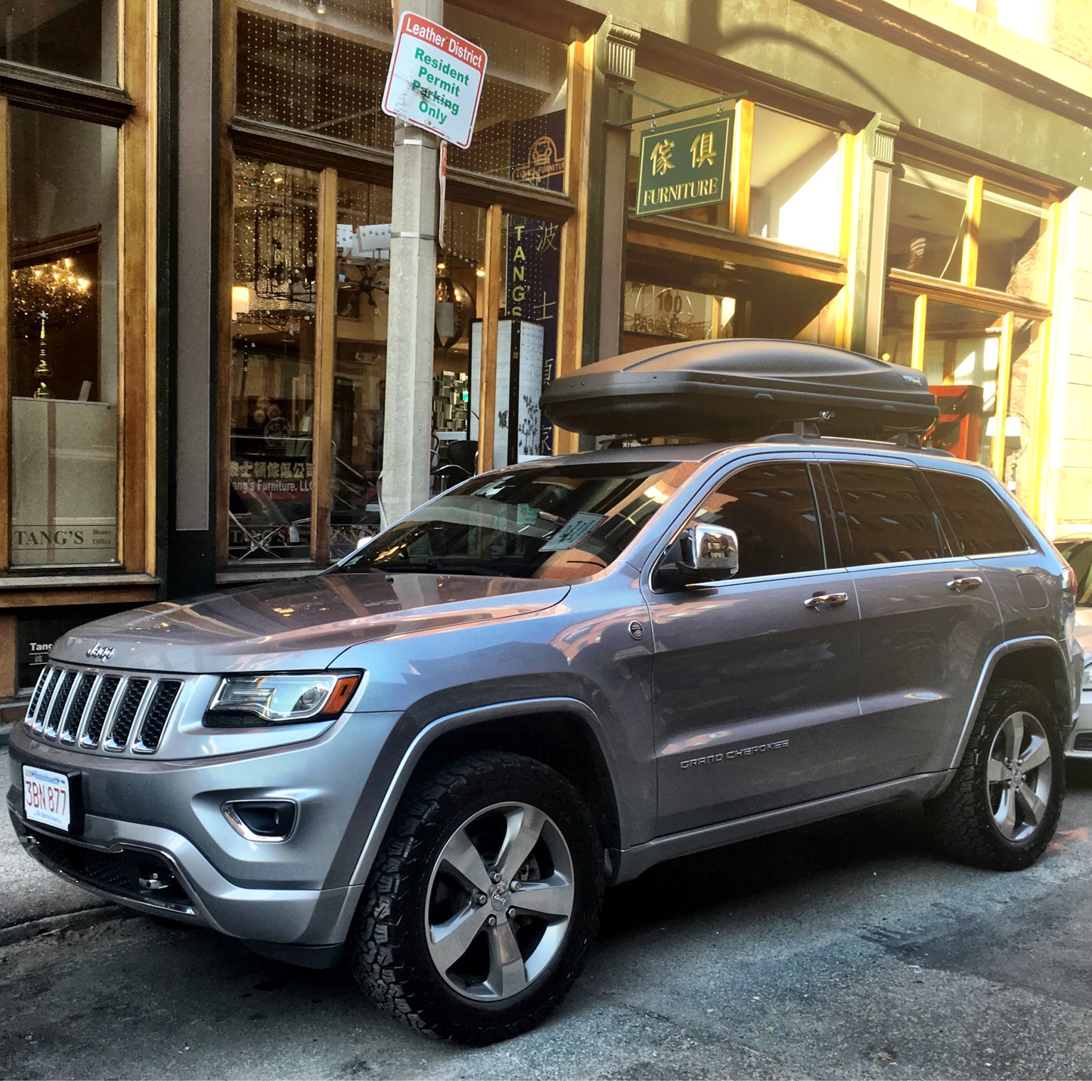 Picked Up A Thule Cargo Ski Box This Weekend
