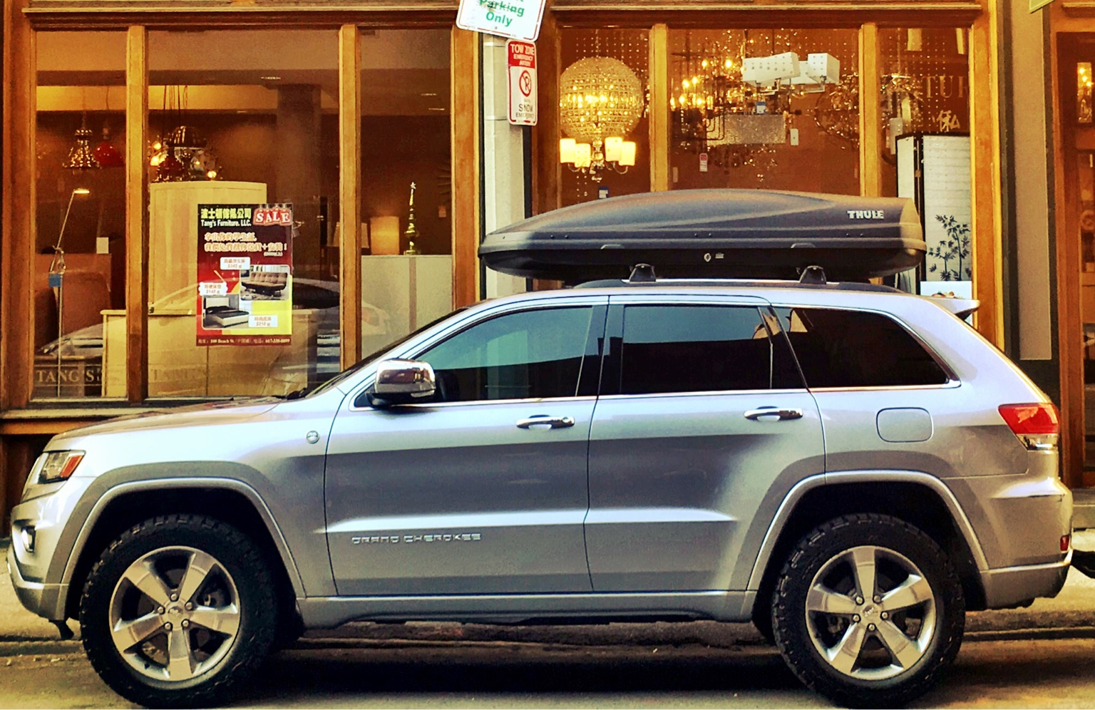 Thule Force Xl >> Picked up a Thule cargo/ski box this weekend ...