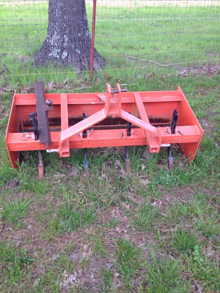 Homemade Tractor Bumper : What have you made for tractor page orangetractortalks everything kubota