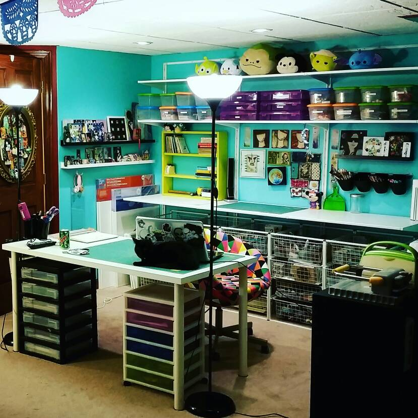 Ultimate Craft Room Home Sweet Home