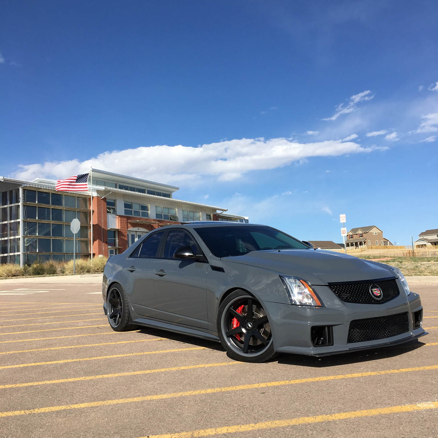 2013 Grigio Telesto CTS-V ~800 RWHP Boost Only