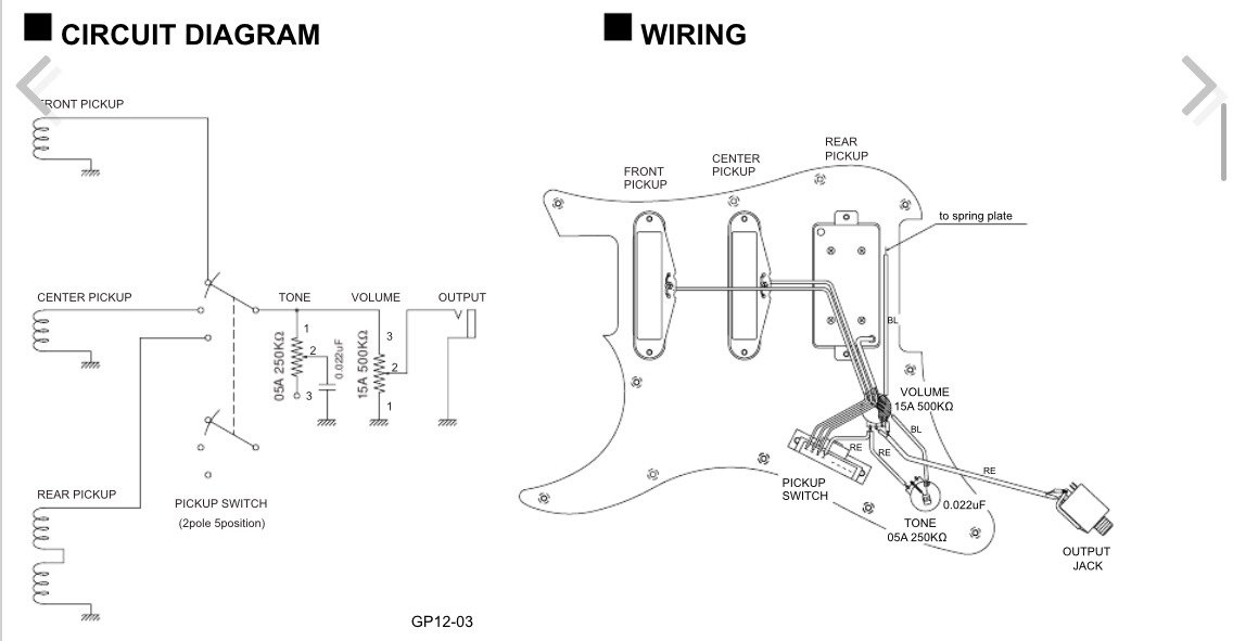 yamaha guitar wiring diagram  u2013 powerking co