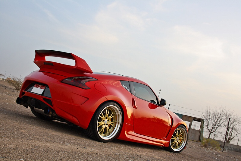 What Rims On A Red Roadster Nissan 370z Forum