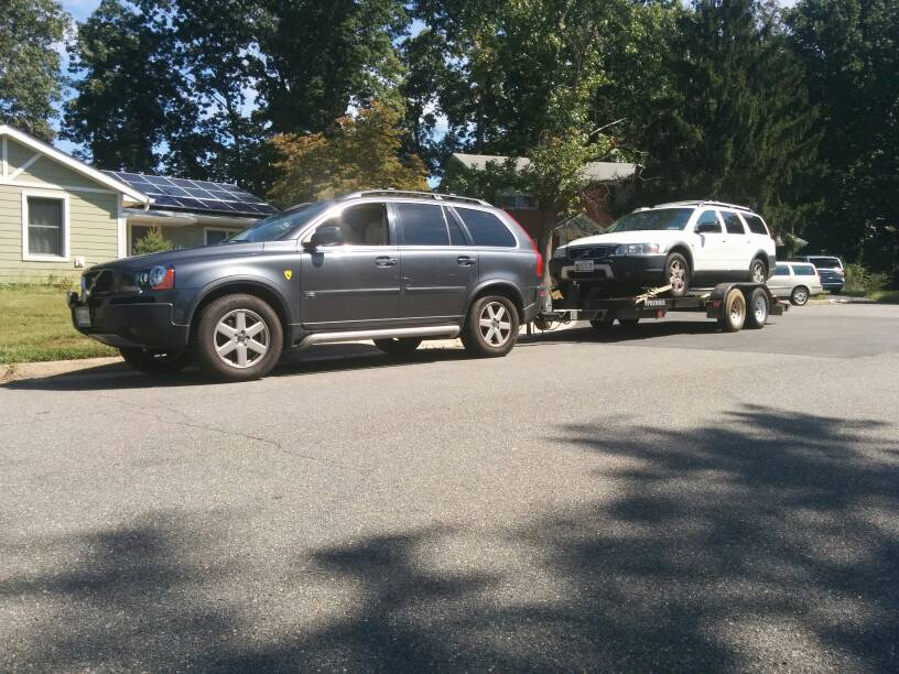 Photos of trailers you tow w/ your XC90!