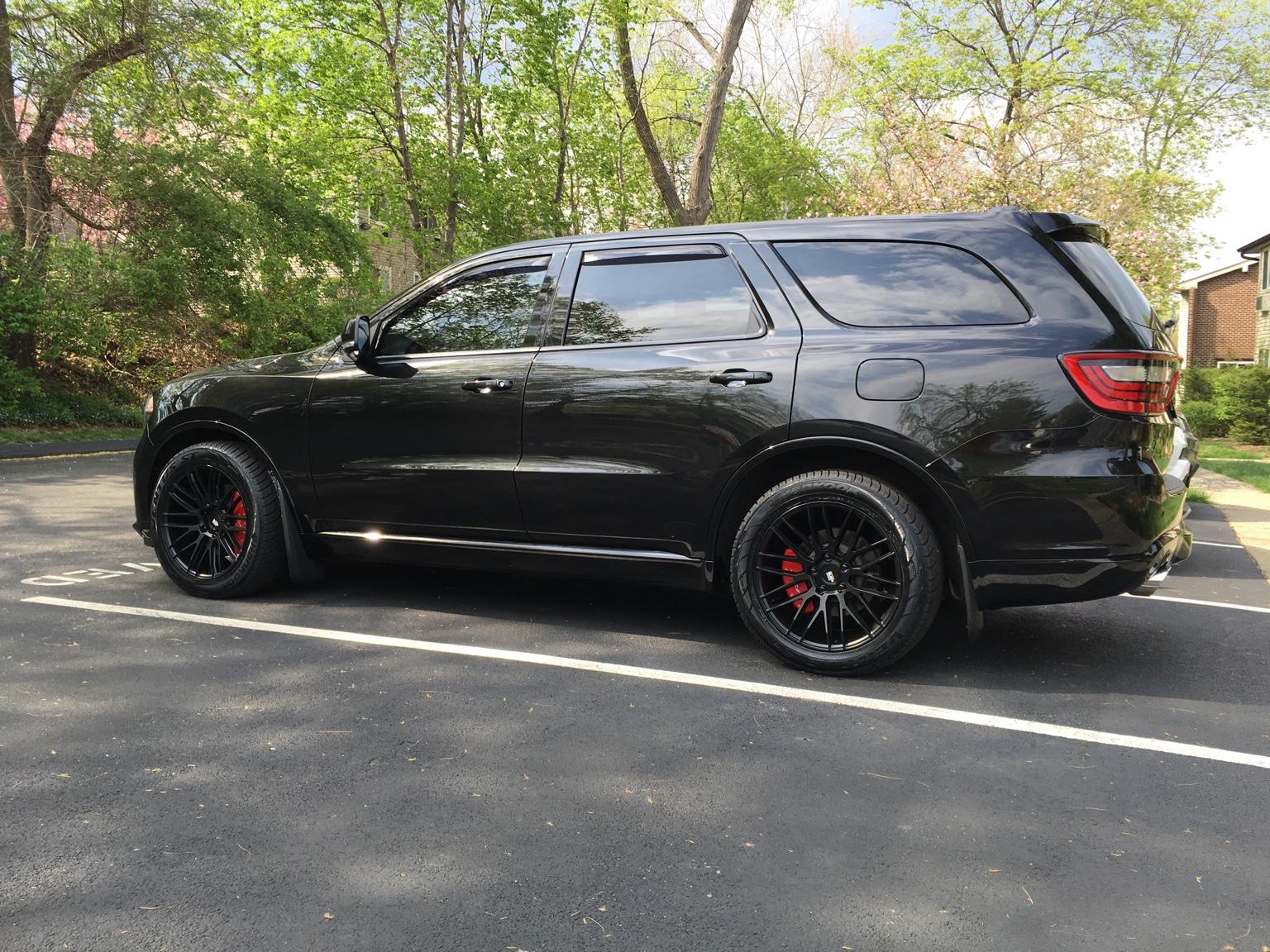 Dodge Durango With Black Rims >> show me your custom rims - Page 5