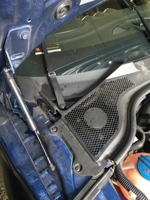 The Audi Tt Forum View Topic Drain Holes Roadster