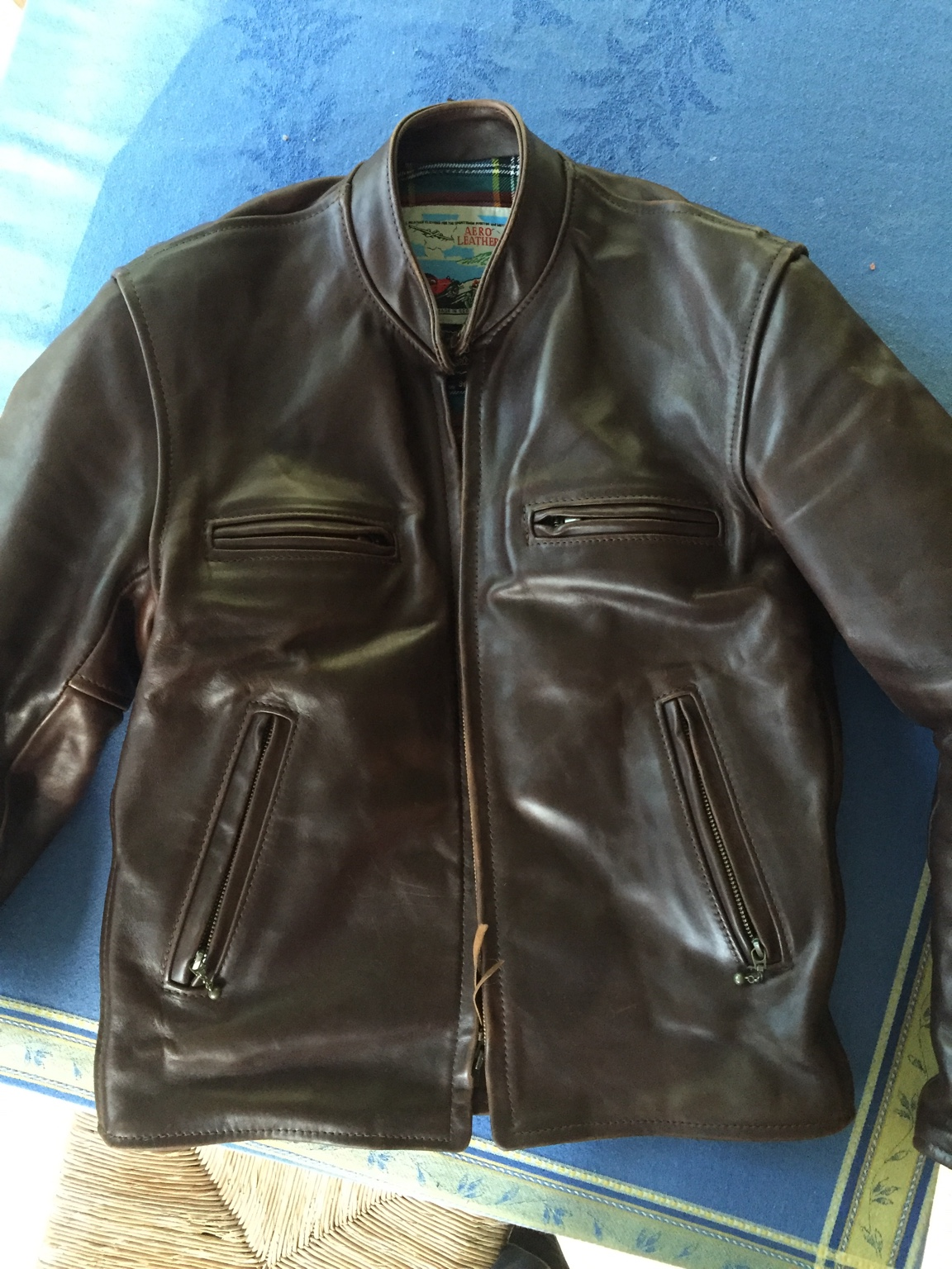 fs: aero cafe racer 36, brown fqhh | the fedora lounge