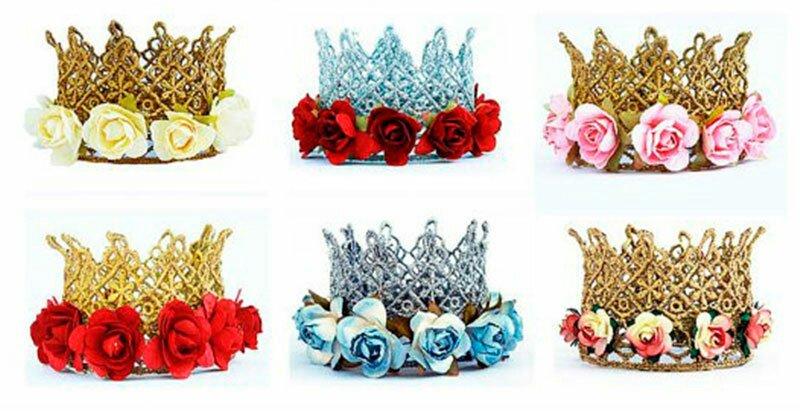 Корона из цветов своими руками 89