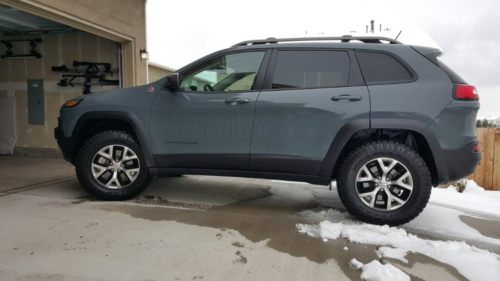 2018 Jeep Grand Cherokee Trail Rated Luxury Suv >> 2015 Jeep Cherokee Trailhawk 2015 Jeep Cherokee Trailhawk ...