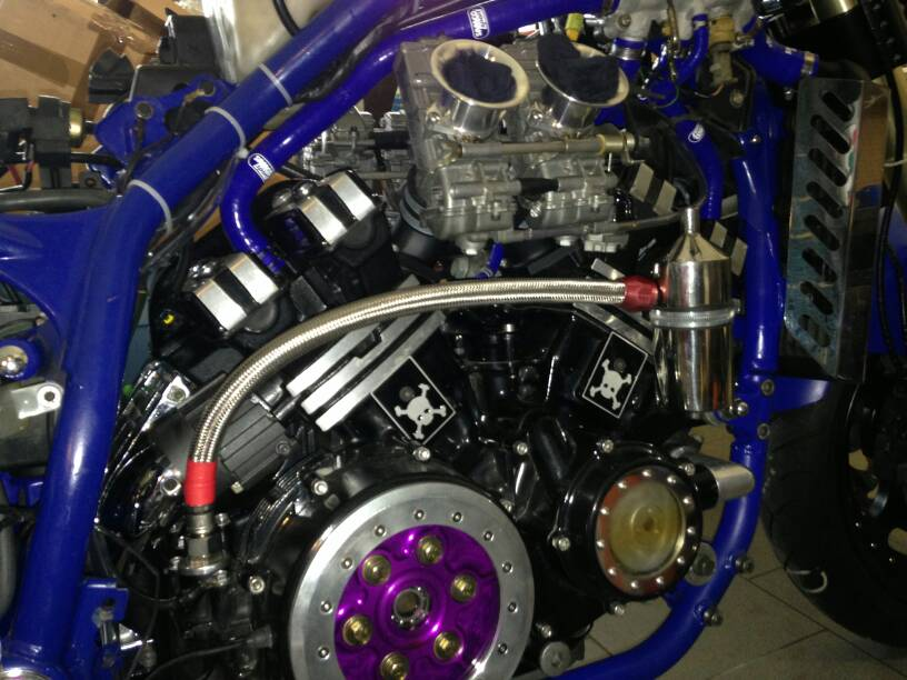 ENGINE BREATHER OIL with COLLECTOR   Yamaha Star V-Max VMAX