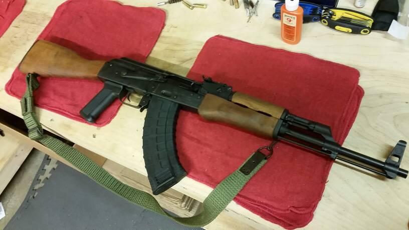 AK 47 is done  | TheGunRack
