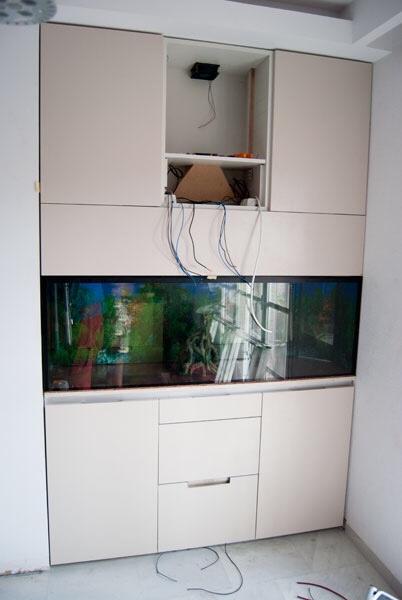 Proyecto acuario y mueble for Mueble para acuario