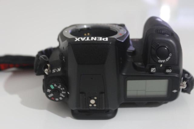 Pentax K5+Pentax Da 18-55 Full Kutulu